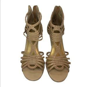 Seychelles strappy heeled sandal